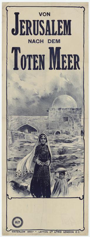 Von Jerusalem nach dem Toten Meer