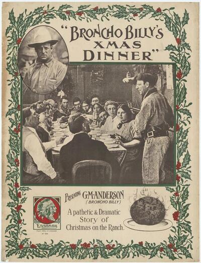 Broncho Billy's Xmas dinner
