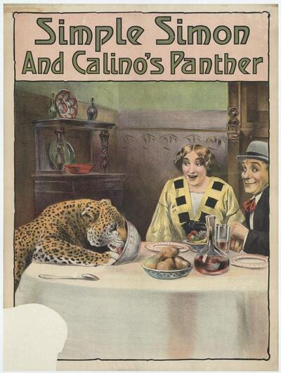 Simple Simon and Calino's panther