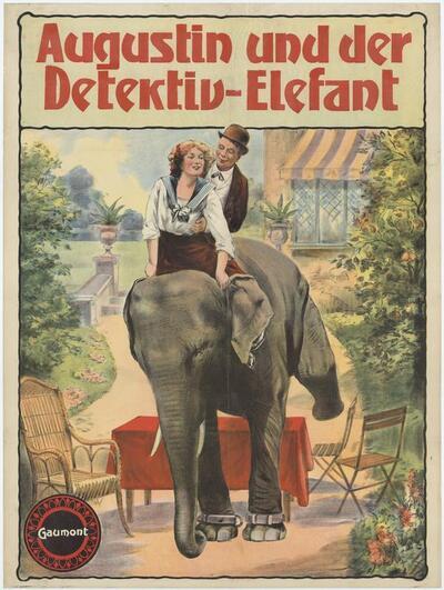 Augustin und der Detektiv-Elefant