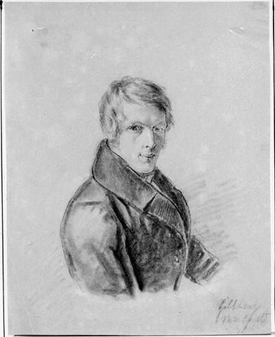 Porträtt av ung man