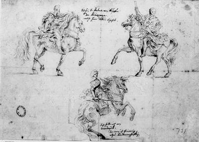 Tre ryttare