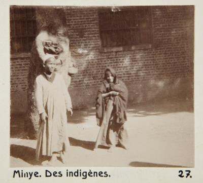 Fotografi. Barn i Minya, Egypten.