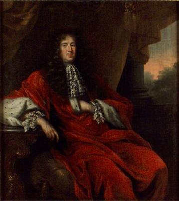 Riksmarskalken, riksrådet greve Johan Gabriel Stenbock, 1640-1705. Oljemålning på duk.