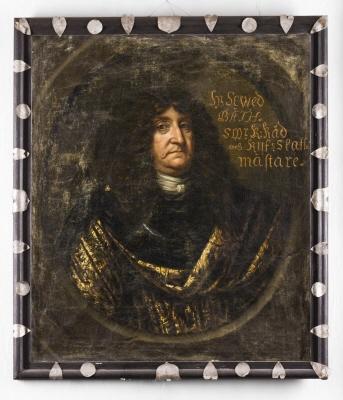 Riksskattmästaren, friherre Seved Bååt, 1615-1669.  Oljemålning på duk.