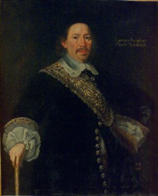 Gert Rehnskiöld ,  1610-58 , regeringsråd. Oljemålning på duk.