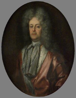 Johan Gabriel Stenbock , 1640-1705 , greve , riksråd och president. Oljemålning på duk.