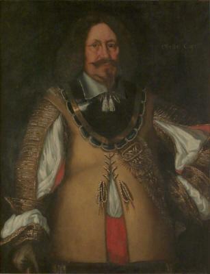 Didrik von Cappel, död 1656, överste. Oljemålning på duk. Höftbild, något fas höger.