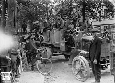 ROUEN - GUERRE - DEBARQUEMENT ARMEE ANGLAISE