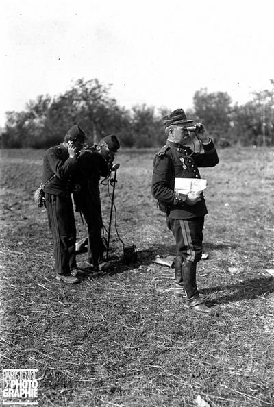 Grandes manoeuvres de l'armée française