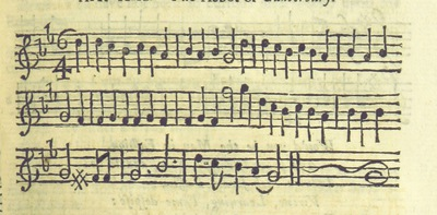 Image from page 34 of The Village Opera [in three acts, in prose; with songs] ... To which is added the musick to each song
