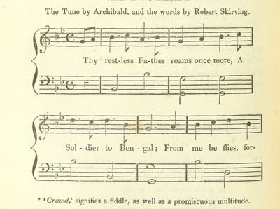 "Image from page 380 of Illustrations of the Lyric Poetry and Music of Scotland. Originally compiled to accompany the ""Scots' Musical Museum"" [of J. Johnson] and now published separately with additional notes and illustrations [and an introduction by D. Laing]"