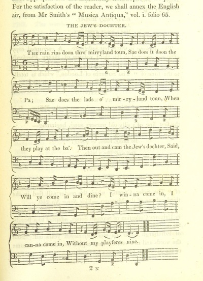 "Image from page 845 of Illustrations of the Lyric Poetry and Music of Scotland. Originally compiled to accompany the ""Scots' Musical Museum"" [of J. Johnson] and now published separately with additional notes and illustrations [and an introduction by D. Laing]"
