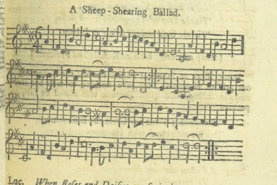 Image from page 86 of The Village Opera [in three acts, in prose; with songs] ... To which is added the musick to each song