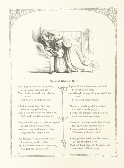 Image from page 154 of Poems and Pictures: a collection of ballads, songs, and other poems