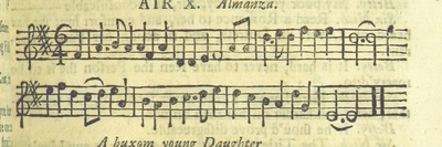 Image from page 22 of The Village Opera [in three acts, in prose; with songs] ... To which is added the musick to each song