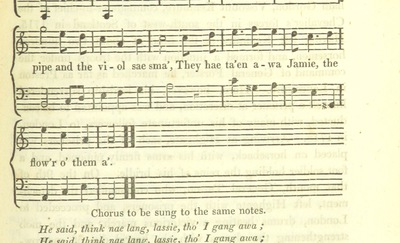 "Image from page 591 of Illustrations of the Lyric Poetry and Music of Scotland. Originally compiled to accompany the ""Scots' Musical Museum"" [of J. Johnson] and now published separately with additional notes and illustrations [and an introduction by D. Laing]"