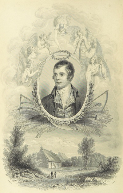 Image from page 8 of The Works and Correspondence of Robert Burns, including his letters to Clarinda; remarks on Scottish songs and ballads, illustrated by historical and critical notes, biographical notices [by James Currie], &c. &c. With an extensive glossary of the Scottish language; a life of the author; and an essay on his genius and writings