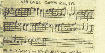 Image from page 78 of The Village Opera [in three acts, in prose; with songs] ... To which is added the musick to each song