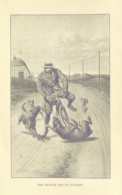 Image from page 8 of In Jutland with a Cycle