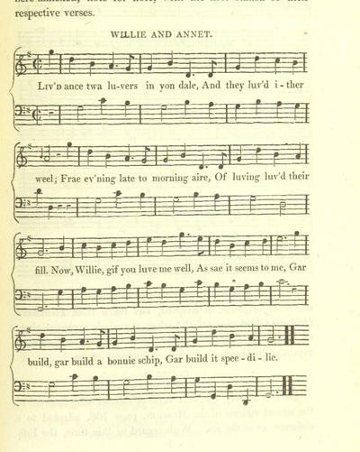 "Image from page 705 of Illustrations of the Lyric Poetry and Music of Scotland. Originally compiled to accompany the ""Scots' Musical Museum"" [of J. Johnson] and now published separately with additional notes and illustrations [and an introduction by D. Laing]"