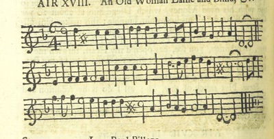 Image from page 33 of The Village Opera [in three acts, in prose; with songs] ... To which is added the musick to each song