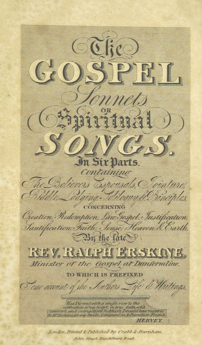 Image from page 9 of [Gospel Sonnets: or, Spiritual songs, in six parts ... The twenty-fifth edition. In which the Holy Scriptures are fully extended. To which is prefixed an account of the author's life and writings.]
