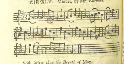 Image from page 61 of The Village Opera [in three acts, in prose; with songs] ... To which is added the musick to each song