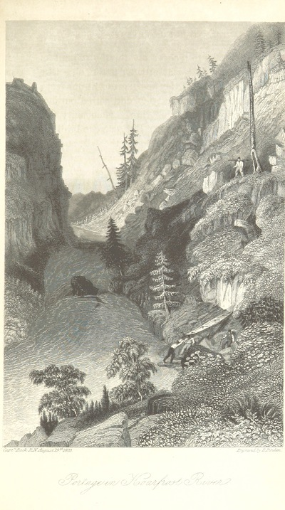 Image from page 139 of Narrative of the Arctic Land Expedition to the mouth of the Great Fish River, and along the shores of the Arctic Ocean, in the years 1833, 1834, and 1835 ... Illustrated by a map and plates