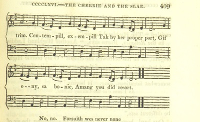 "Image from page 719 of Illustrations of the Lyric Poetry and Music of Scotland. Originally compiled to accompany the ""Scots' Musical Museum"" [of J. Johnson] and now published separately with additional notes and illustrations [and an introduction by D. Laing]"