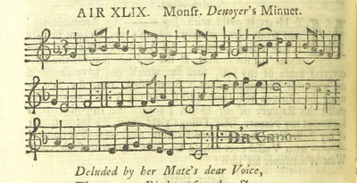 Image from page 65 of The Village Opera [in three acts, in prose; with songs] ... To which is added the musick to each song