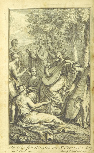 Image from page 4 of Ode for Musick on St. Cecilia's Day ... Fourth edition