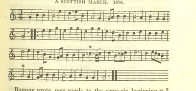"Image from page 701 of Illustrations of the Lyric Poetry and Music of Scotland. Originally compiled to accompany the ""Scots' Musical Museum"" [of J. Johnson] and now published separately with additional notes and illustrations [and an introduction by D. Laing]"