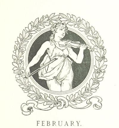 Image from page 37 of The Music of the Poets. A Musician's Birthday Book. Edited by E. d'Esterre-Keeling