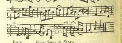 Image from page 55 of The Village Opera [in three acts, in prose; with songs] ... To which is added the musick to each song