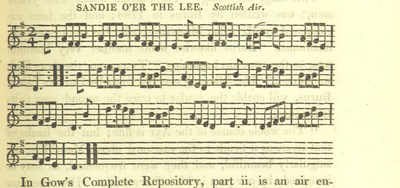 "Image from page 481 of Illustrations of the Lyric Poetry and Music of Scotland. Originally compiled to accompany the ""Scots' Musical Museum"" [of J. Johnson] and now published separately with additional notes and illustrations [and an introduction by D. Laing]"