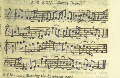 Image from page 42 of The Village Opera [in three acts, in prose; with songs] ... To which is added the musick to each song