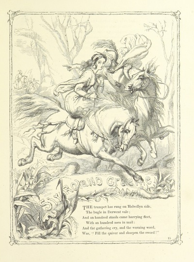 Image from page 31 of Poems and Pictures: a collection of ballads, songs, and other poems
