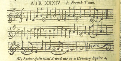 Image from page 53 of The Village Opera [in three acts, in prose; with songs] ... To which is added the musick to each song