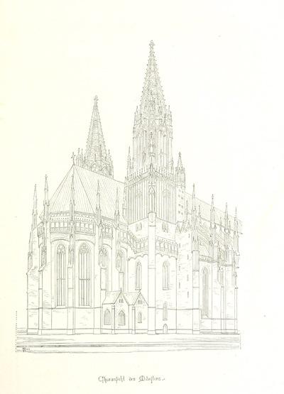 Image from page 61 of Ulm und sein Münster. Festschrift zur Erinnerung an den 30 Juni 1377 ... Mit Holzschnitten und artistischen Beilagen von Professor Baldinger und Professor Riess, etc