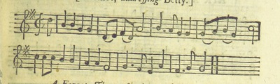 Image from page 60 of The Village Opera [in three acts, in prose; with songs] ... To which is added the musick to each song