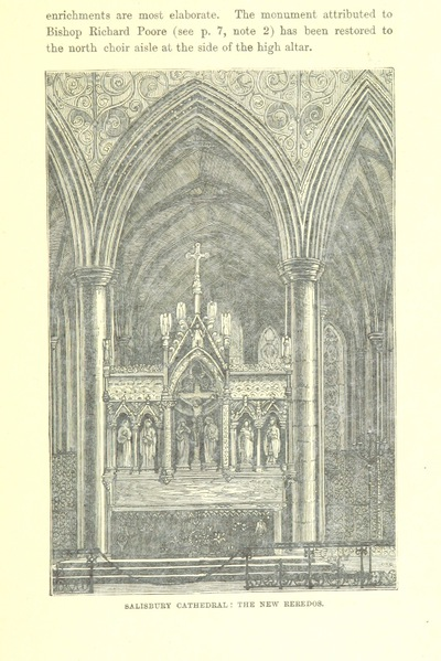 Image from page 49 of [Salisbury Cathedral.] Ward and Lock's Illustrated Historical Handbook to Salisbury Cathedral, etc