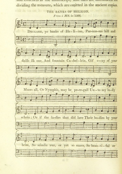 "Image from page 718 of Illustrations of the Lyric Poetry and Music of Scotland. Originally compiled to accompany the ""Scots' Musical Museum"" [of J. Johnson] and now published separately with additional notes and illustrations [and an introduction by D. Laing]"