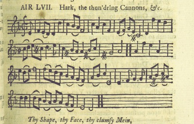 Image from page 76 of The Village Opera [in three acts, in prose; with songs] ... To which is added the musick to each song