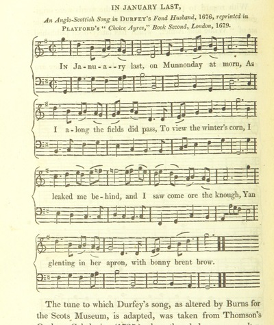 "Image from page 706 of Illustrations of the Lyric Poetry and Music of Scotland. Originally compiled to accompany the ""Scots' Musical Museum"" [of J. Johnson] and now published separately with additional notes and illustrations [and an introduction by D. Laing]"