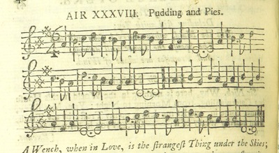 Image from page 57 of The Village Opera [in three acts, in prose; with songs] ... To which is added the musick to each song
