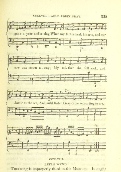 "Image from page 459 of Illustrations of the Lyric Poetry and Music of Scotland. Originally compiled to accompany the ""Scots' Musical Museum"" [of J. Johnson] and now published separately with additional notes and illustrations [and an introduction by D. Laing]"