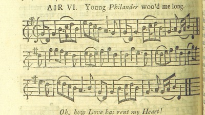 Image from page 17 of The Village Opera [in three acts, in prose; with songs] ... To which is added the musick to each song