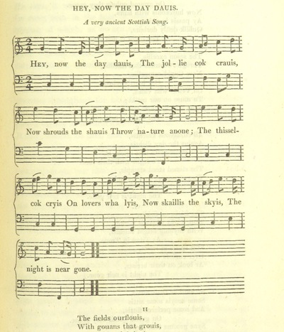 "Image from page 349 of Illustrations of the Lyric Poetry and Music of Scotland. Originally compiled to accompany the ""Scots' Musical Museum"" [of J. Johnson] and now published separately with additional notes and illustrations [and an introduction by D. Laing]"
