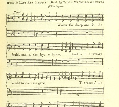 "Image from page 457 of Illustrations of the Lyric Poetry and Music of Scotland. Originally compiled to accompany the ""Scots' Musical Museum"" [of J. Johnson] and now published separately with additional notes and illustrations [and an introduction by D. Laing]"